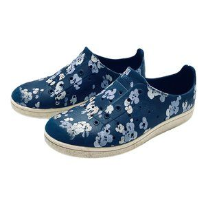 People Footwear The Ace Blue Floral Slip On Shoes